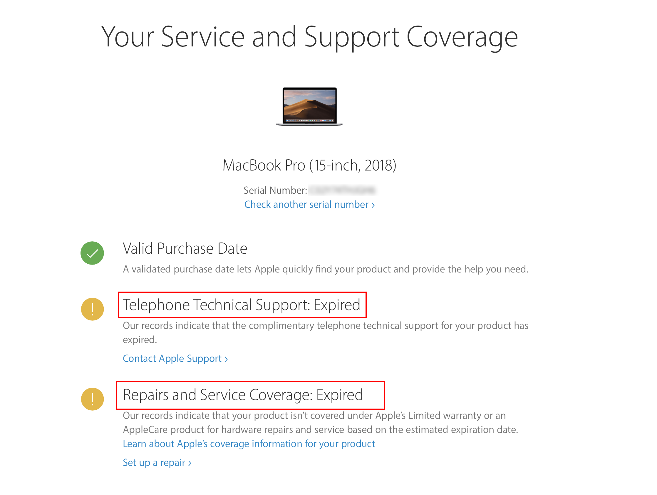 AppleCare for MacBook