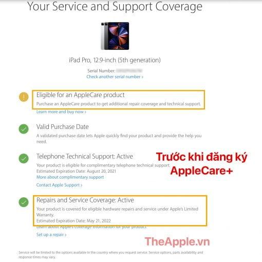 AppleCare Plus iPad Pro