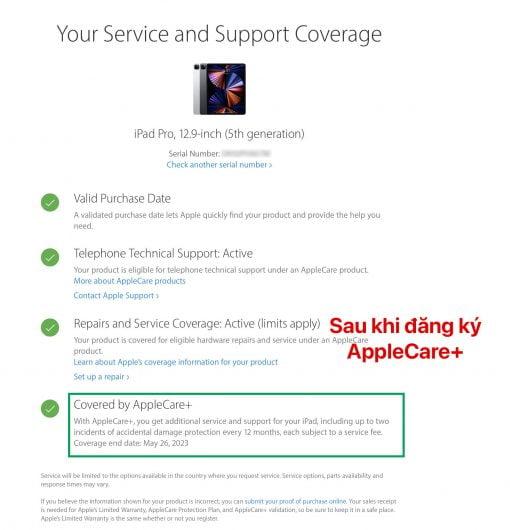 AppleCare+ iPad Pro M1